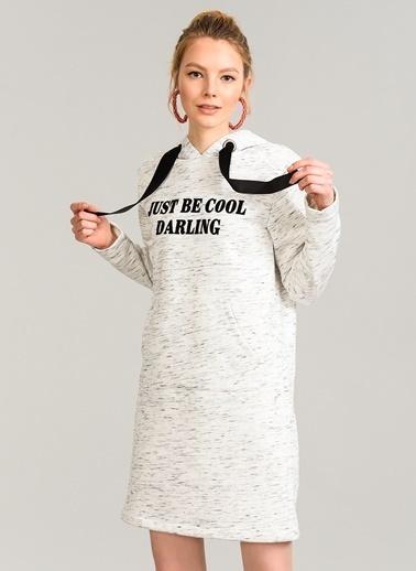 Kapüşonlu Swaet Elbise-Agenda